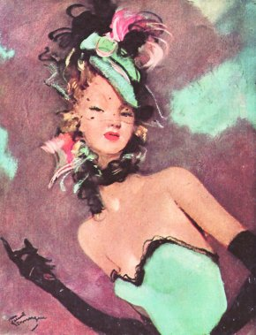 Jean Gabriel Domergue through fashion