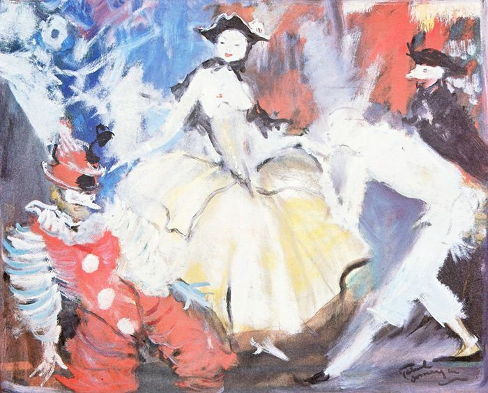 Domergue: Exhibitions and fairs in Paris