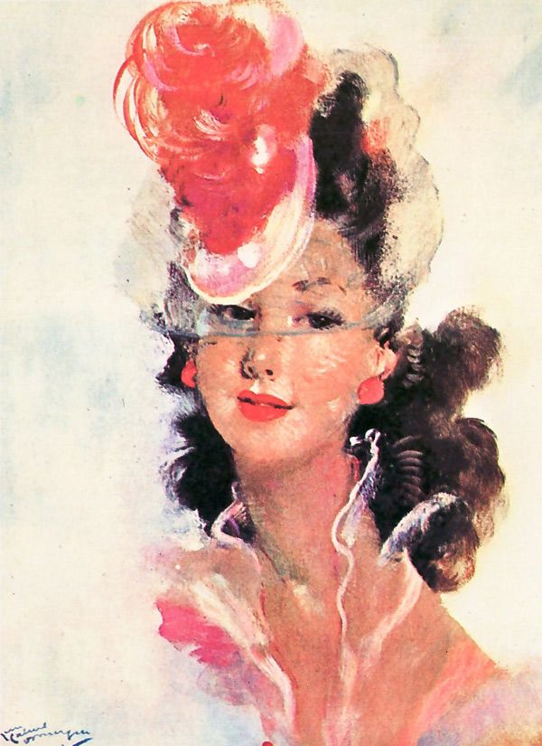 Jean-Gabriel Domergue – Paintings